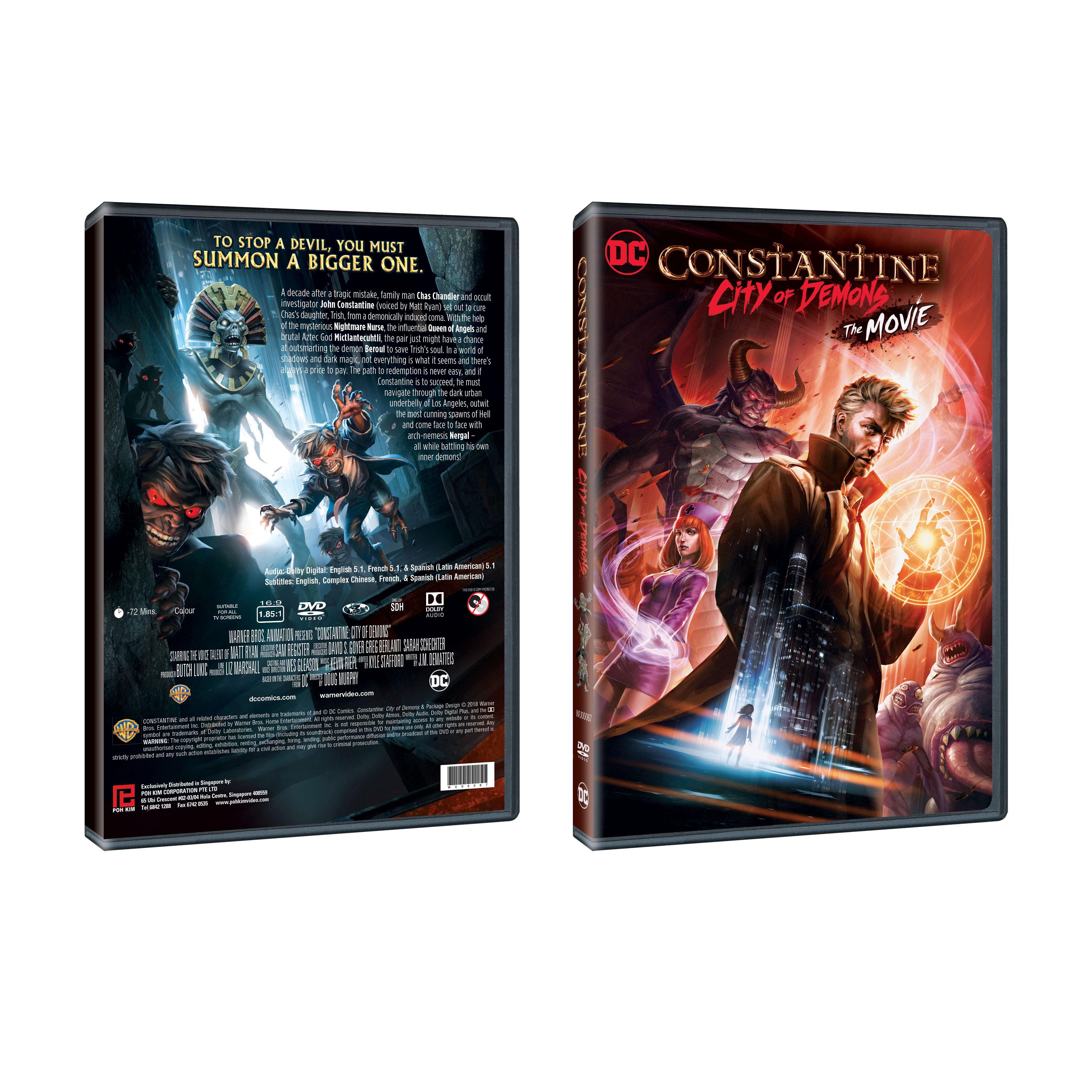 Constantine City Of Demons Movie
