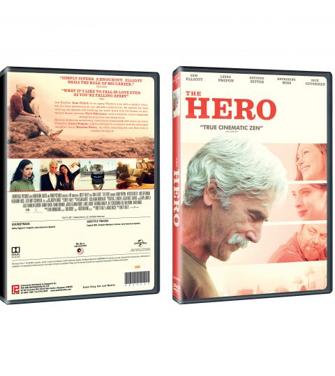 The Hero DVD Packshot