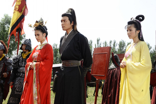 datang female tour china drama