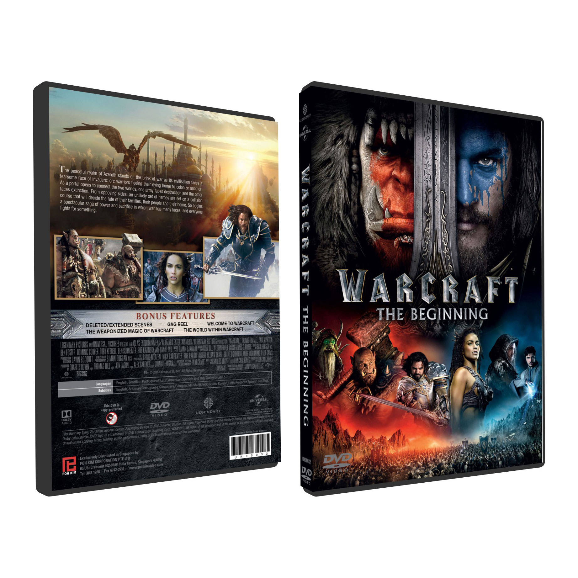Warcraft The Beginning Dvd