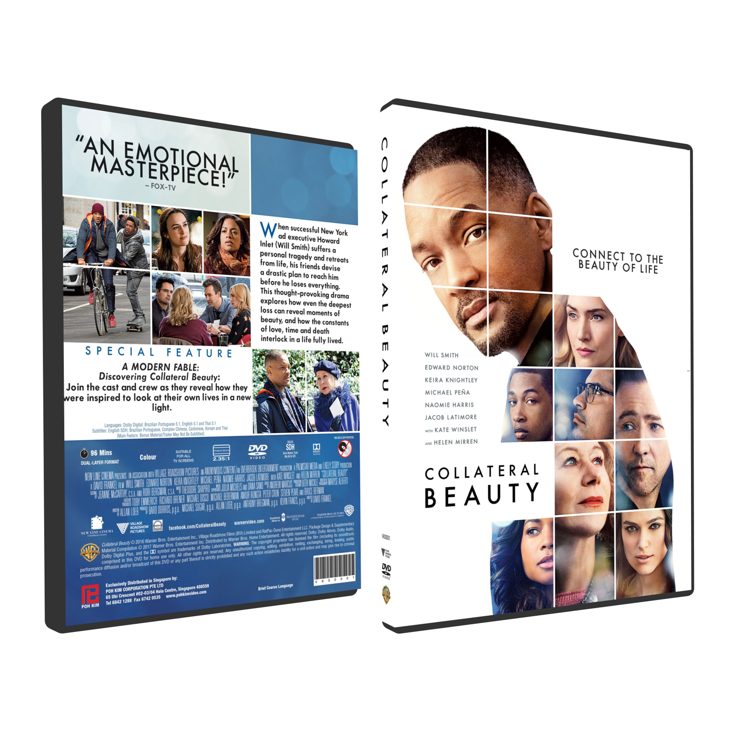 a short review of collateral beauty a film by david frankel Collateral beauty director : david frankel cast that's what we were thinking on first hearing about this film knightley gets the short.