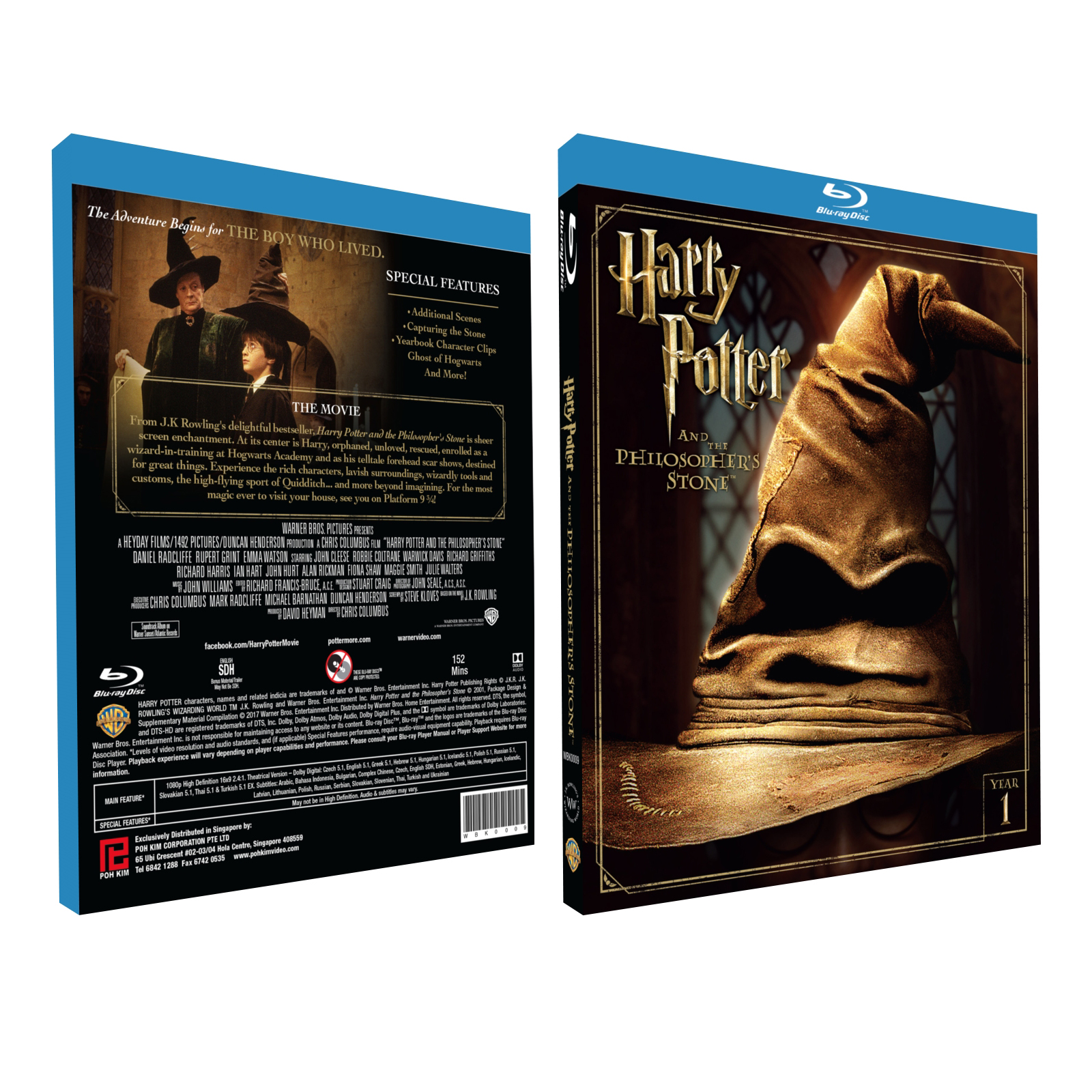 Harry Potter and the Sorcerer's Stone (Blu-ray + Bonus)