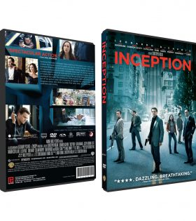 INCEPTION DVD BOX