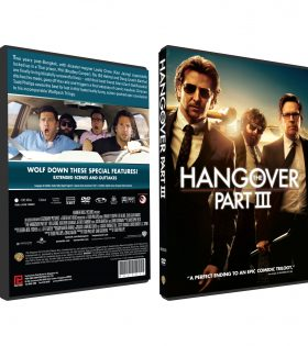 THE HANGOVER PART III DVD BOX