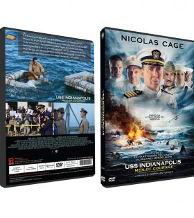 USS INDIANAPOLIS MEN OF COURAGE DVD BOX