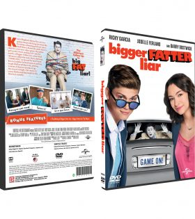 BIGGER FATTER LIAR DVD BOX