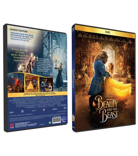 BEAUTY AND THE BEAST 2017 DVD BOX copy