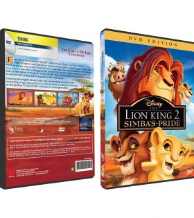 LION KING 2 SIMBA'S PRIDE DVD BOX