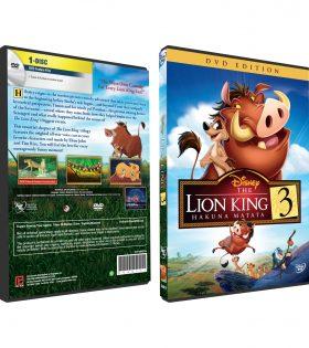 LION KING 3 HAKUNA MATATA DVD BOX
