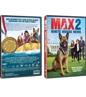 Max 2 DVD Packshot