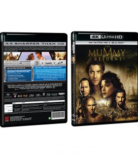 Mummy 2 4K+BD Packshot
