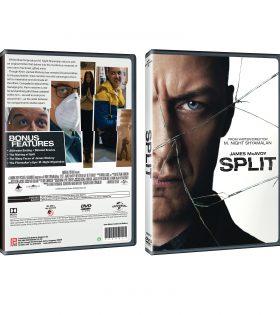 Split DVD Packshot