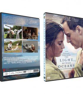 THE LIGHT BETWEEN OCEANS DVD BOX
