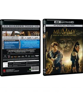 The Mummy 3 4K+BD Packshot 2