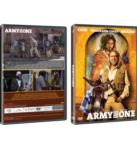 Army of One DVD Packshot