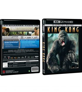 King Kong 4K+BD Packshot
