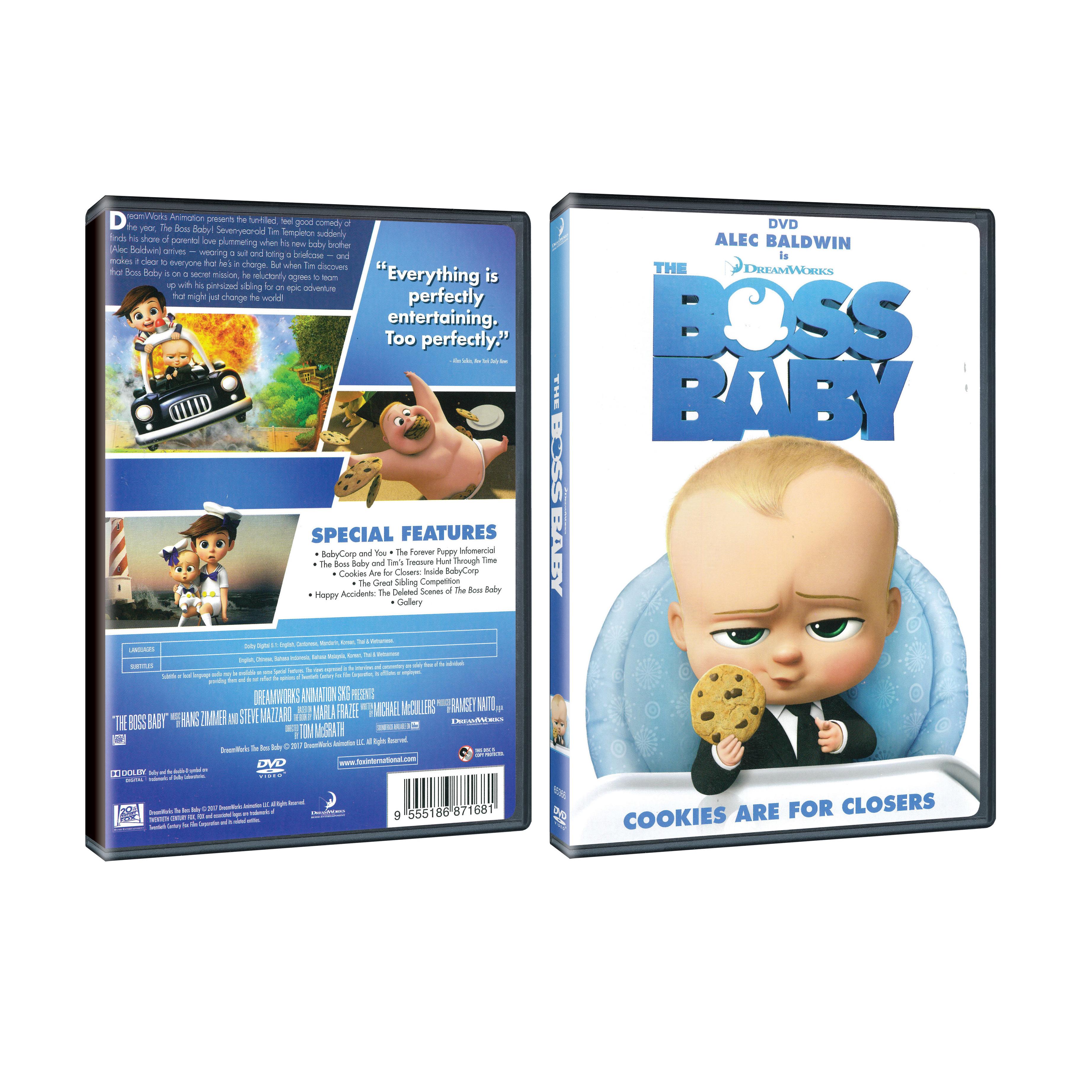 boss baby dvd