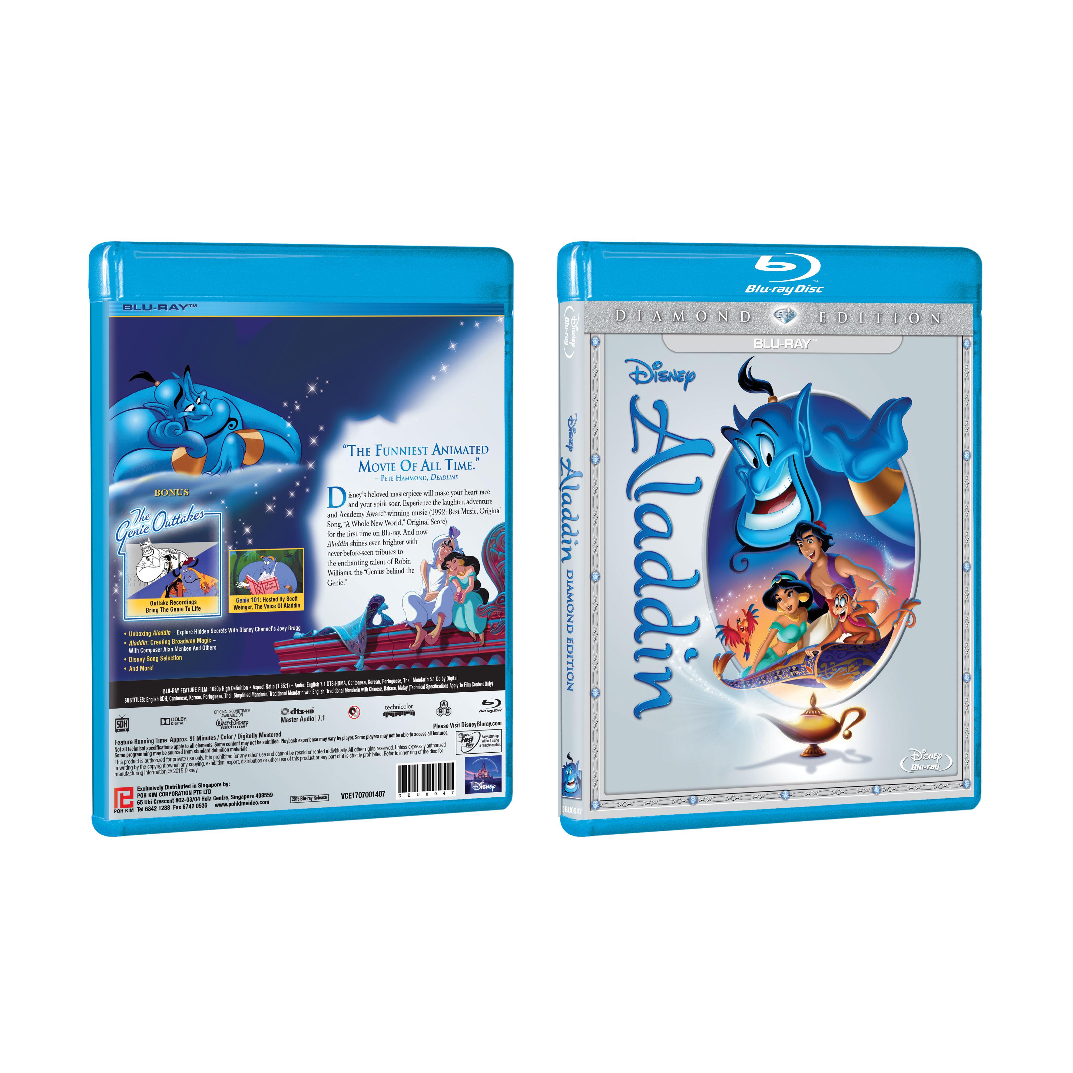 Edition Diamond: Aladdin Diamond Edition (Blu-ray)