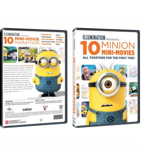 10 MINION MINI-MOVIES DVD Packshot