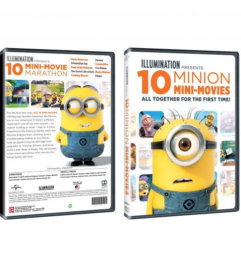 10 MINION MINI-MOVIES DVD Packshot