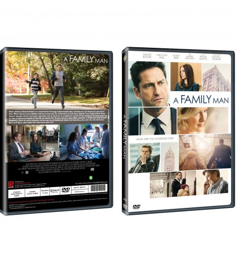 A FAMILY MAN DVD Packshot