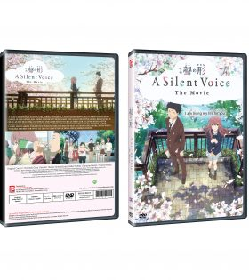 A SILENT VOICE DVD Packshot