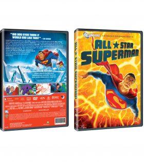 ALL SUPERMAN DVD Packshot