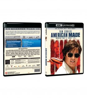 American Made 4K Packshot