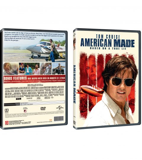 American Made DVD Packshot