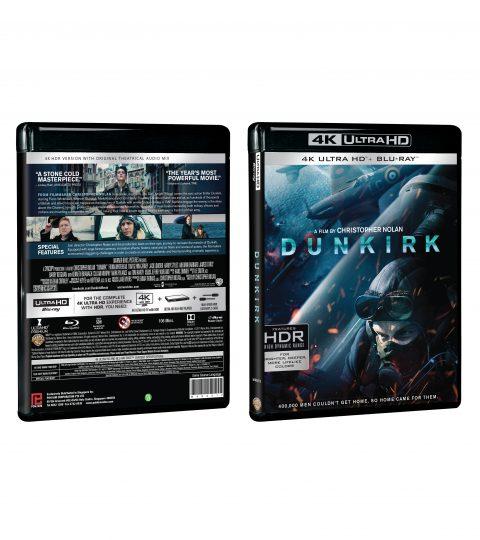 DUNKIRK 4K+BD Packshot