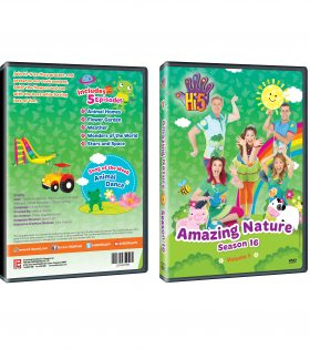DVD Jacket Season 16_AmazingNature DVD Packshot