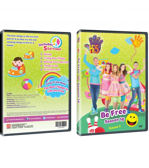 DVD Jacket Season 16_BeFree DVD Packshot