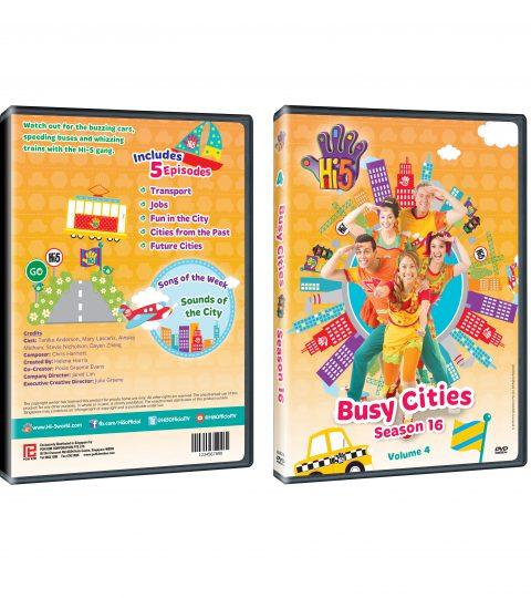 DVD Jacket Season 16_Busy Cities DVD Packshot
