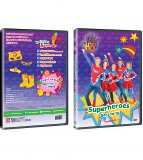DVD Jacket Season 16_Superheroes DVD Packshot