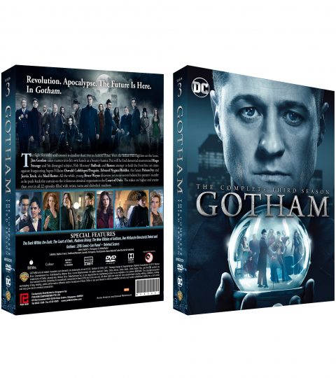 GOTHAM 3RD SEASON-BOX