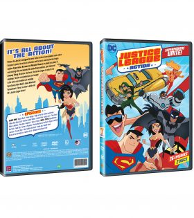 JUSTICE LEAGUE ACTION SEASON 1 PART 1 DVD Packshot