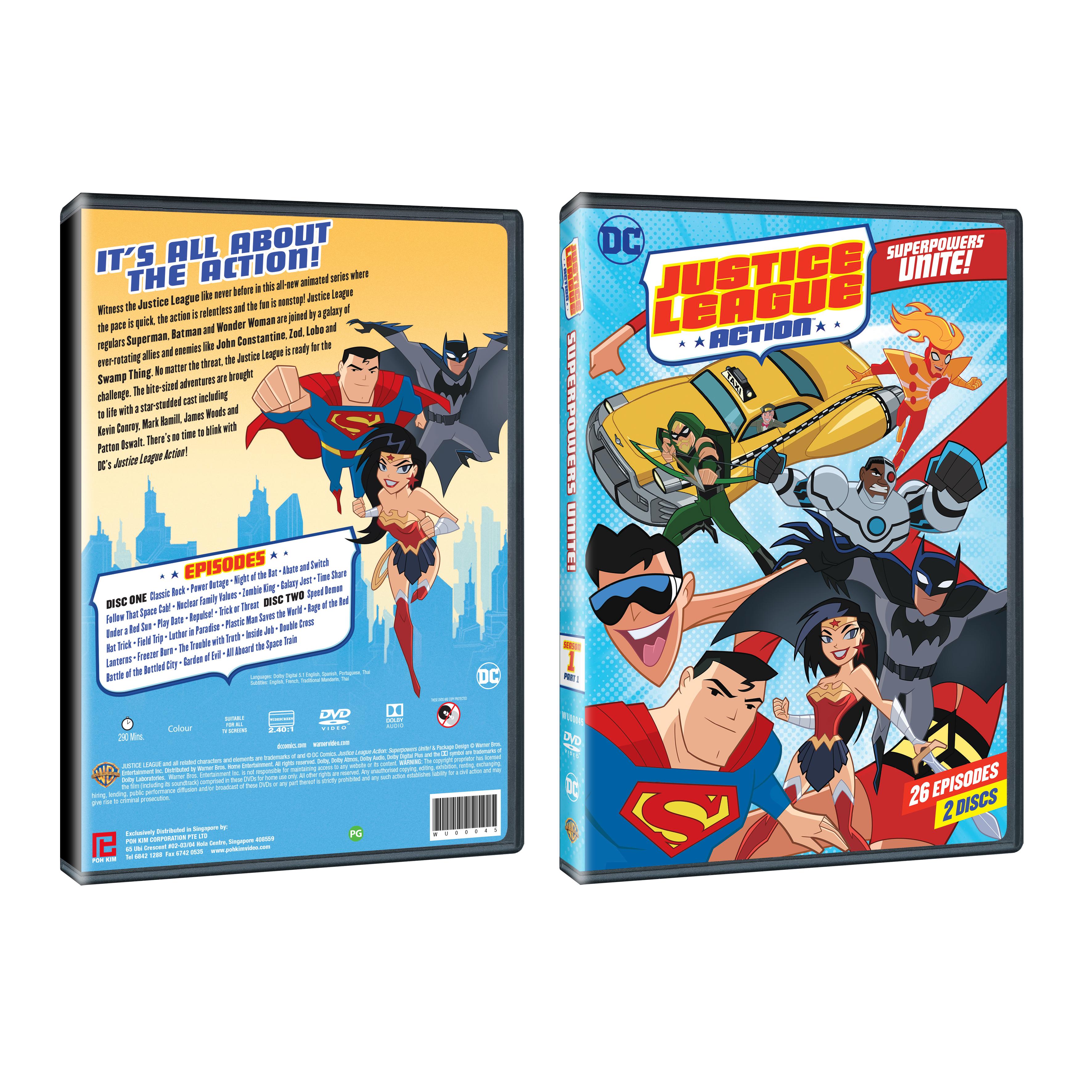 Justice League Action