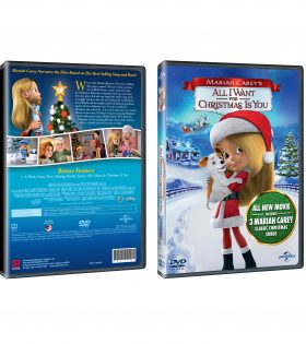 Mariah Carey's All I Want for Christmas Is You DVD Packshot
