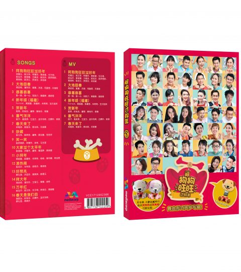 New MediaCorp Chinese New Year 2018 Album Thumbdrive Packshot