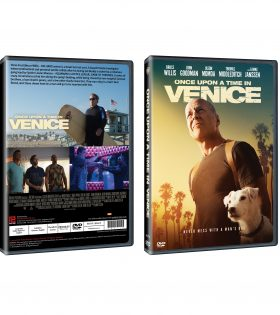 Once Upon A Time In Venice DVD Packshot