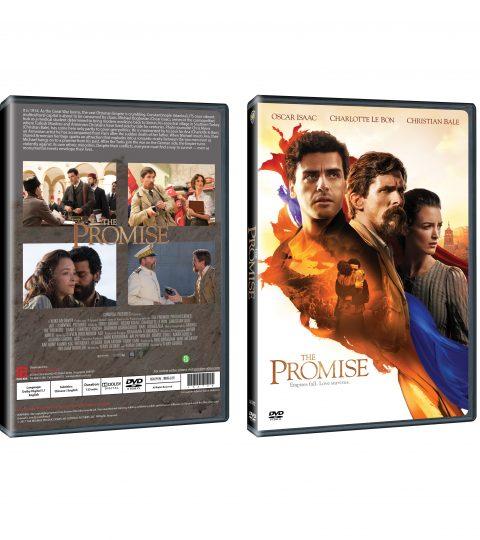 THE PROMISE DVD Packshot