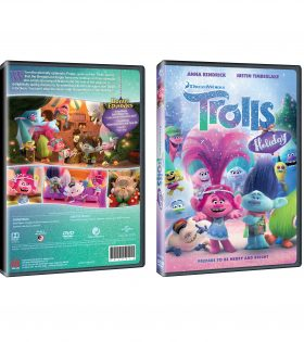 TROLLS HOLIDAY DVD Packshot