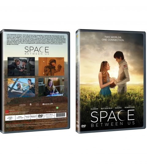 Space Between Us DVD Packshot