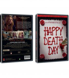 HAPPY DEATH DAY DVD Packshot