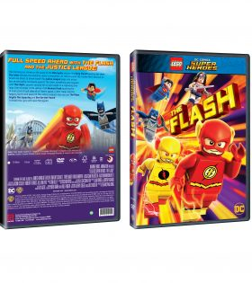 LEGO DC THE FLASH DVD Packshot