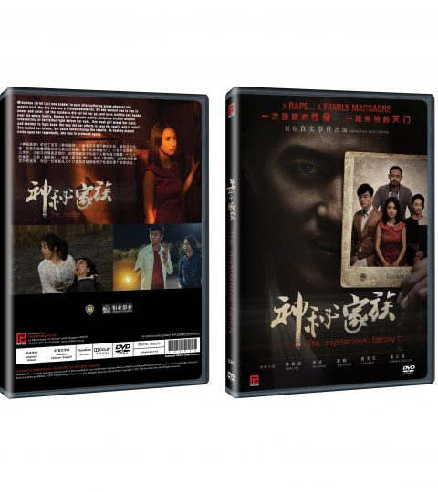 THE MYSTERIOUS FAMILY DVD Packshot