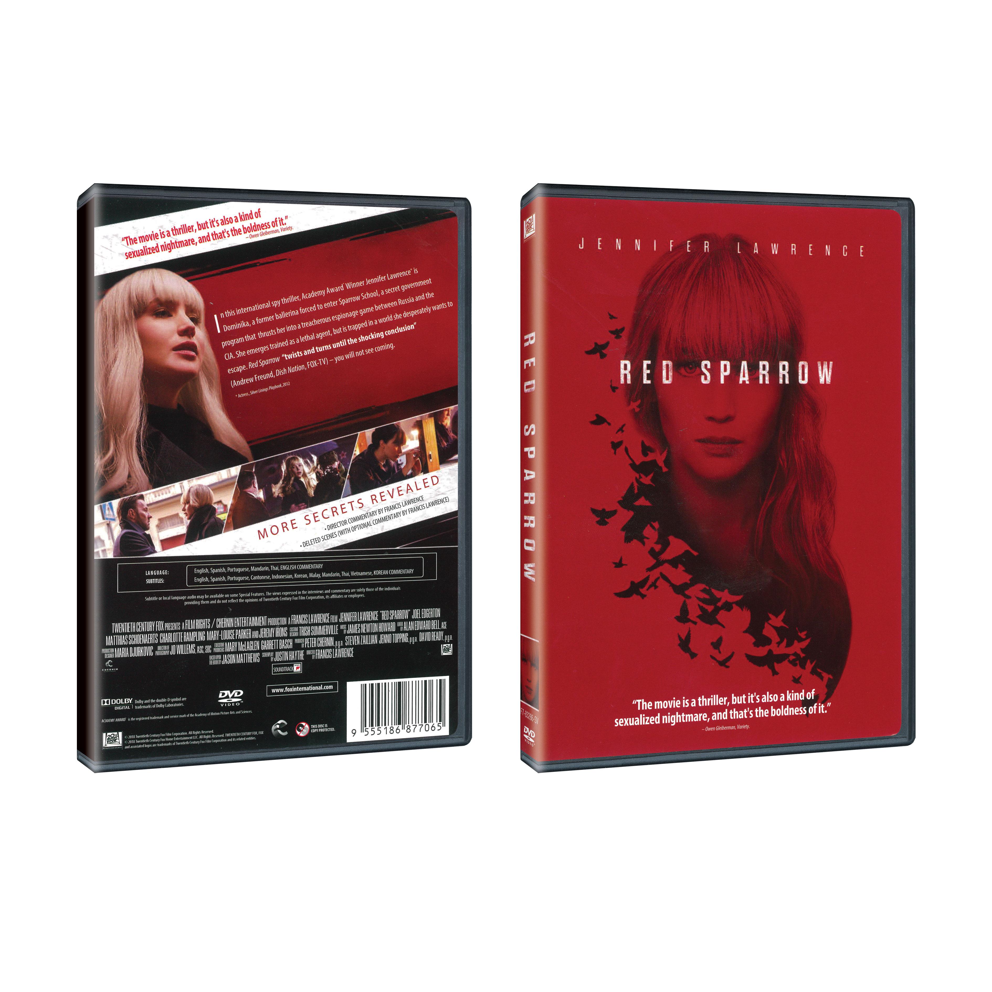 Red Sparrow (DVD) - Poh Kim Video