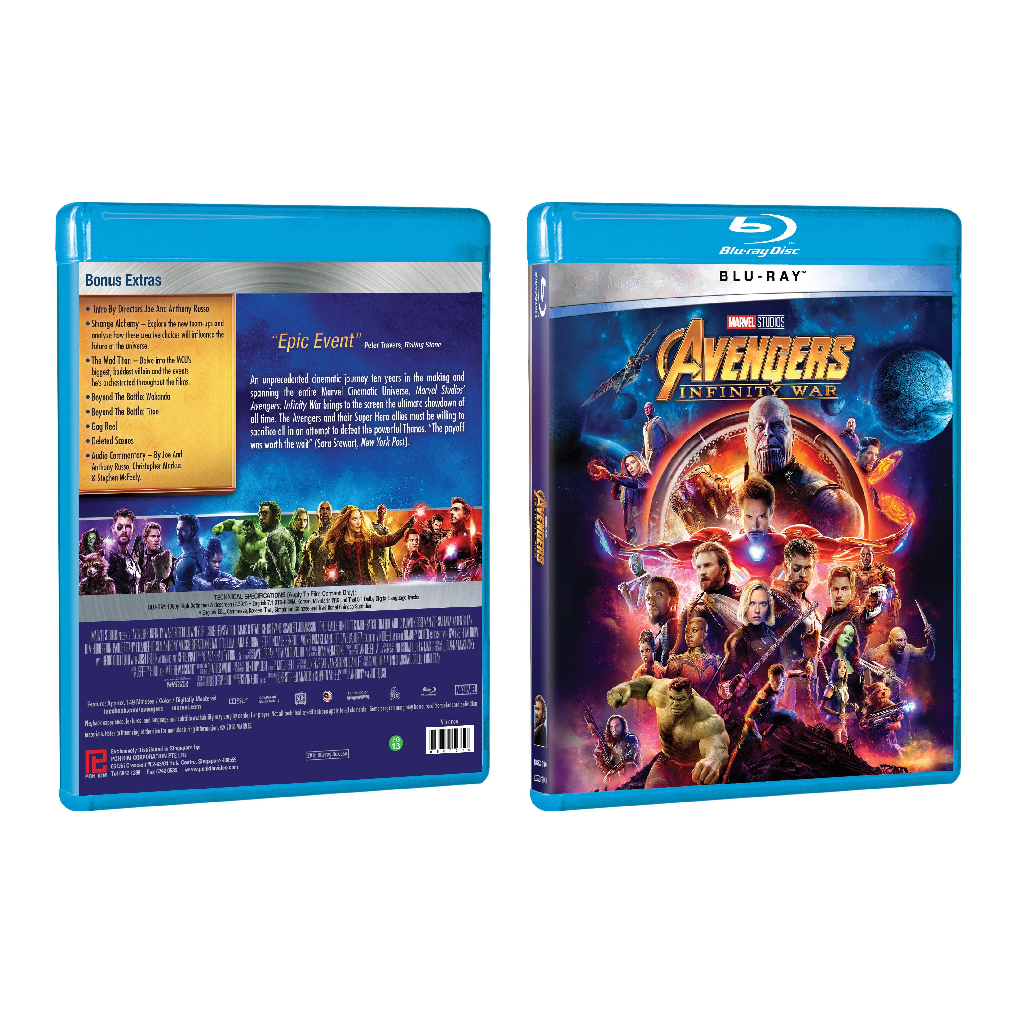 Avengers: Infinity War – Blu-ray Screenshots | HighDefDiscNews