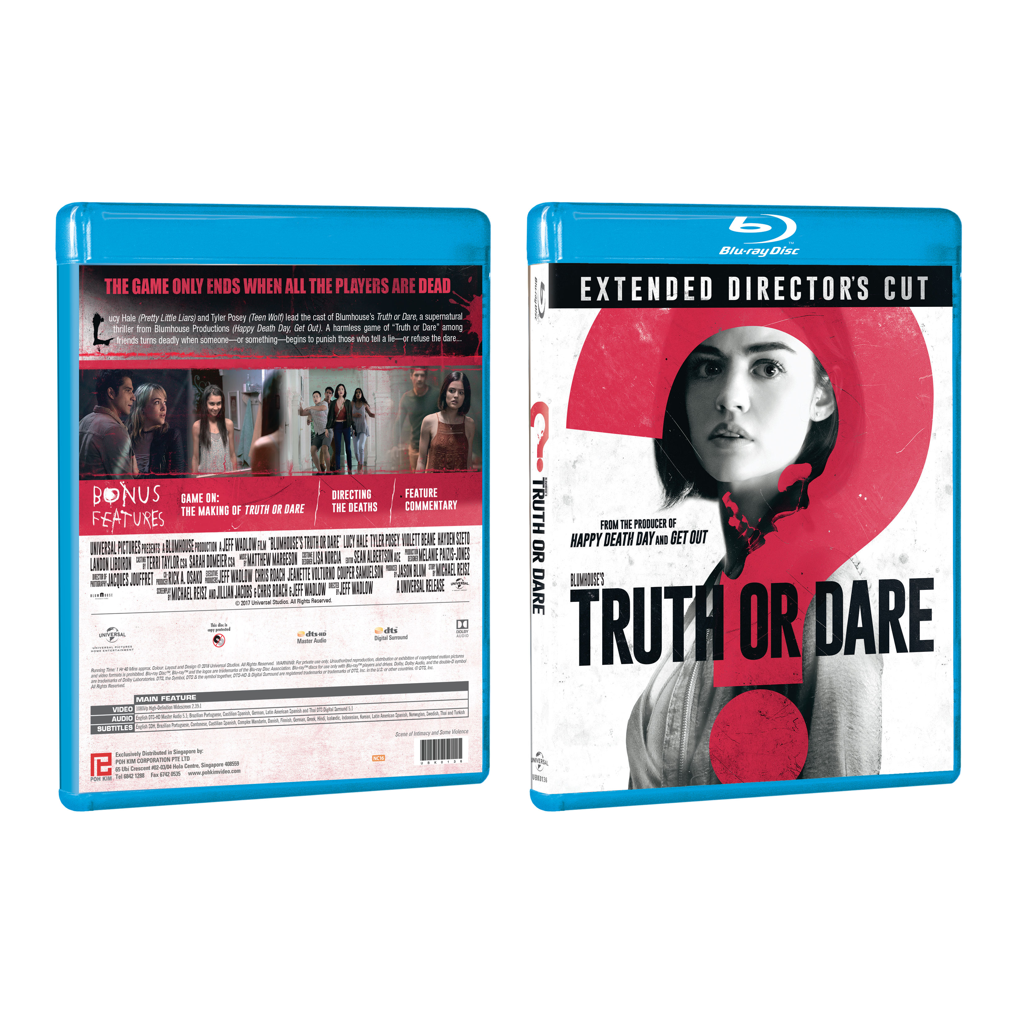 Blumhouse S Truth Or Dare Blu Ray