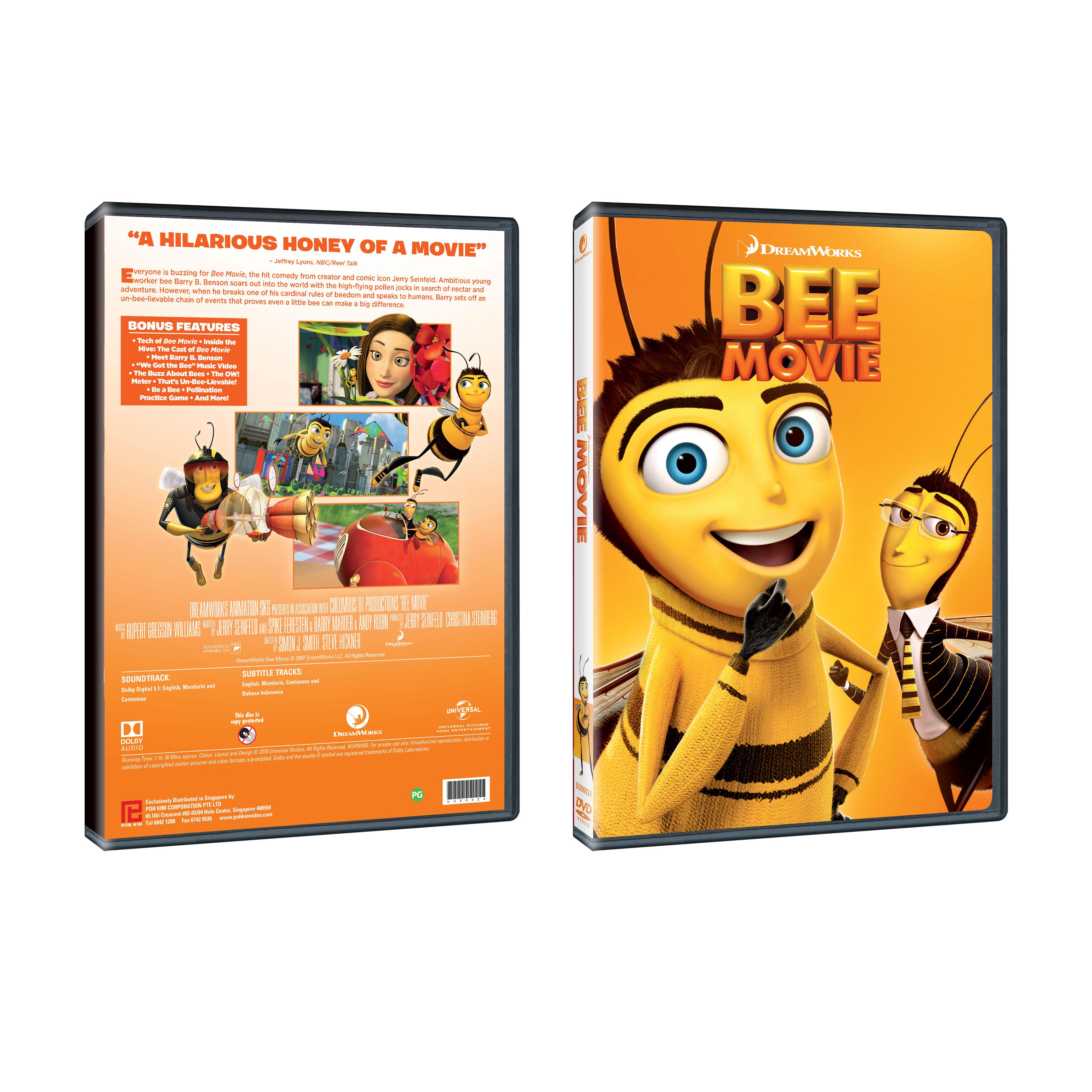 Bee Movie Dvd Poh Kim Video